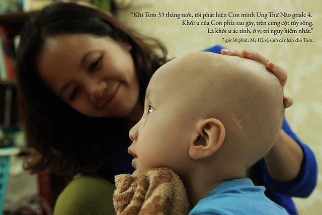 Lời tâm sự xúc động từ mẹ em bé ung thư não trong bộ ảnh 24h của Tom: Mình không được than vãn, vì thiệt thòi là con... - Ảnh 3.