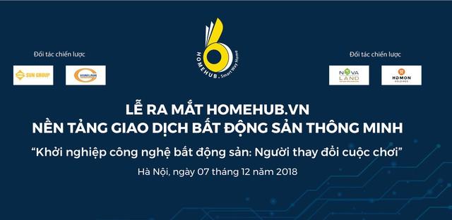 HomeHub – Nền tảng công nghệ thông minh về bất động sản chính thức công bố, được ngay các nhà phát triển bất động sản danh tiếng Việt Nam hợp tác chiến lược - Ảnh 1.