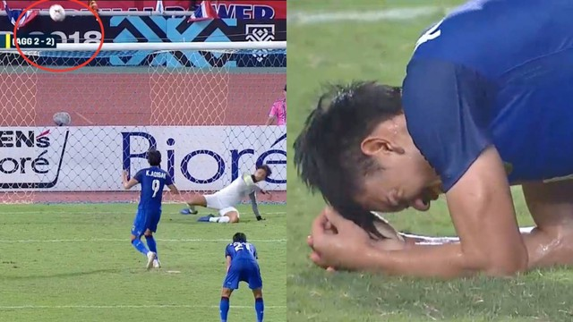 Cầu thủ Thái Lan suy sụp, gục khóc nức nở sau thất bại đau đớn trước Malaysia - Ảnh 2.