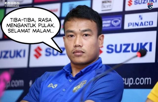 Fan Malaysia vui sướng tột cùng, hả hê đăng ảnh mỉa mai thủ môn nói trước bước không qua của Thái Lan - Ảnh 2.
