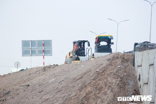 Ảnh: Dự án cao tốc 6 làn xe Pháp Vân - Cầu Giẽ thi công chậm như rùa bò - Ảnh 10.
