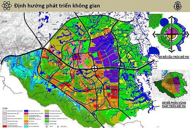 Hà Nội xin Thủ tướng duyệt quy hoạch 'siêu' thành phố chứa 60 vạn dân - Ảnh 1.