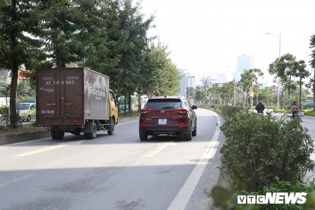 Ảnh: Cận cảnh phố 8 làn xe ở Hà Nội mang tên nhà tư sản Trịnh Văn Bô - Ảnh 4.