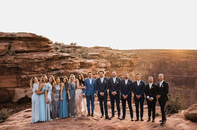Chiêm ngưỡng đám cưới tuyệt vời giữa lưng trời, điều lãng mạn cặp đôi nào cũng mơ ước - Ảnh 6.
