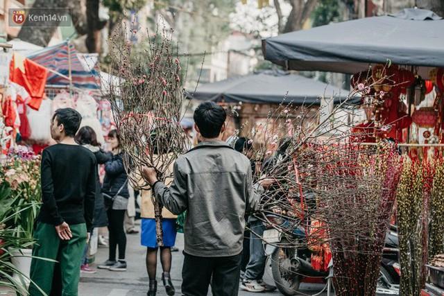 Chùm ảnh: Ghé thăm chợ hoa truyền thống lâu đời nhất Hà Nội - cả năm chỉ họp đúng một phiên duy nhất - Ảnh 5.