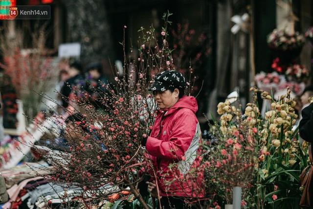 Chùm ảnh: Ghé thăm chợ hoa truyền thống lâu đời nhất Hà Nội - cả năm chỉ họp đúng một phiên duy nhất - Ảnh 8.