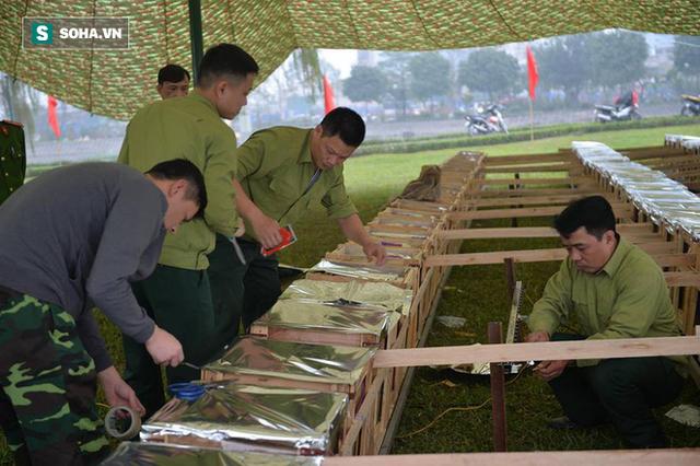 Trận địa pháo hoa tại Hà Nội trước khoảnh khắc Giao thừa - Ảnh 11.