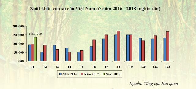 Tín hiệu tích cực của thị trường cao su đầu năm mới - Ảnh 1.