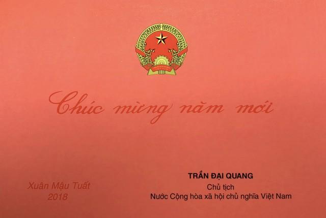 Thư chúc Tết Nguyên đán Mậu Tuất 2018 của Chủ tịch nước Trần Đại Quang - Ảnh 1.