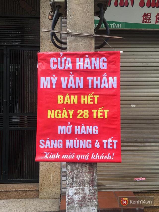 Lịch mở cửa Tết của hàng quán bình dân ở Hà Nội: các hàng nổi tiếng nghỉ rất lâu - Ảnh 20.
