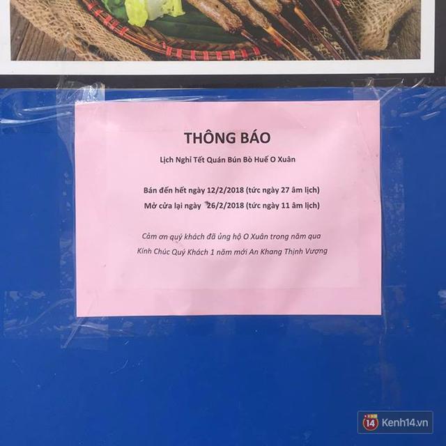 Lịch mở cửa Tết của hàng quán bình dân ở Hà Nội: các hàng nổi tiếng nghỉ rất lâu - Ảnh 4.