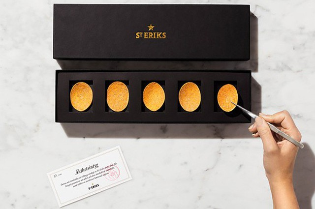 Gần 1,3 triệu cho 1 hộp 5 miếng, đây là món snack khoai tây chiên đắt nhất thế giới - Ảnh 6.