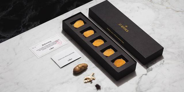 Gần 1,3 triệu cho 1 hộp 5 miếng, đây là món snack khoai tây chiên đắt nhất thế giới - Ảnh 7.