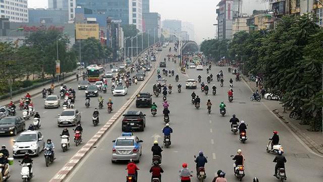 Giao thông Hà Nội bắt đầu tăng tăng nhiệt - Ảnh 12.