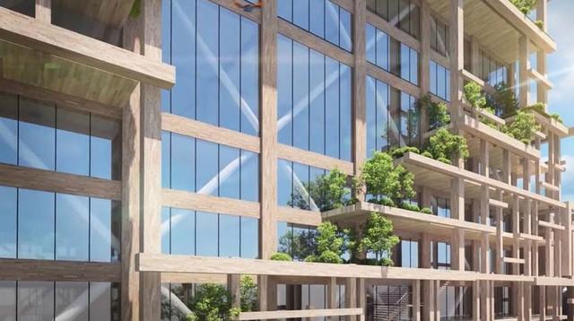 Nhật Bản lên kế hoạch xây tòa nhà chọc trời bằng gỗ cao nhất thế giới - Ảnh 4.