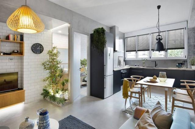 Chỉ 46m2 nhưng căn hộ chung cư này khiến người khó tính nhất cũng phải hài lòng - Ảnh 12.