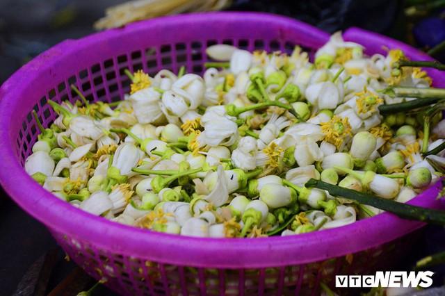 Hoa bưởi đầu mùa, giá tới 300.000 đồng/kg vẫn hút khách Hà Nội - Ảnh 13.