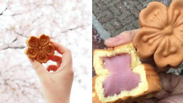 Không chỉ có Nhật Bản mà Hàn Quốc cũng đón chào mùa hoa anh đào với hàng loạt món ăn uống cực xinh - Ảnh 1.