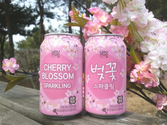 Không chỉ có Nhật Bản mà Hàn Quốc cũng đón chào mùa hoa anh đào với hàng loạt món ăn uống cực xinh - Ảnh 7.