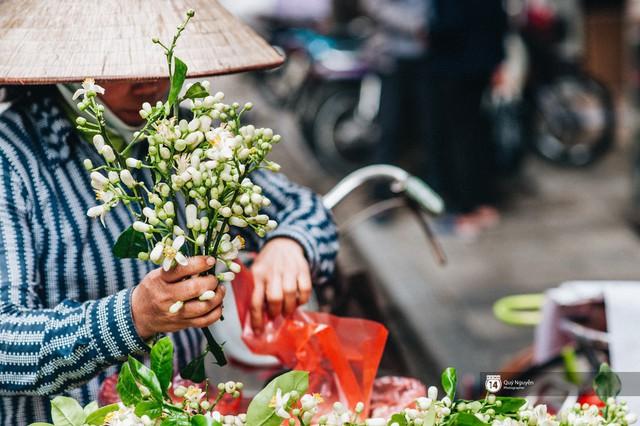 Giữa tiết trời nồm ẩm đầu xuân, có một Hà Nội nên thơ và dịu dàng hương hoa bưởi - Ảnh 3.