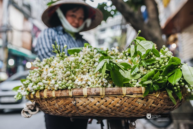 Giữa tiết trời nồm ẩm đầu xuân, có một Hà Nội nên thơ và dịu dàng hương hoa bưởi - Ảnh 10.
