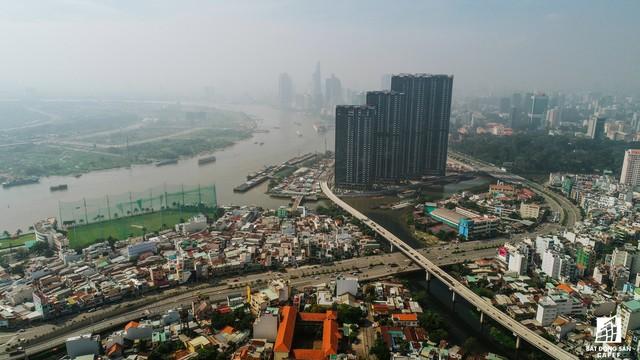 Toàn cảnh 20km tuyến đường sắt metro số 1 Bến Thành - Suối Tiên đang dần thành hình - Ảnh 2.
