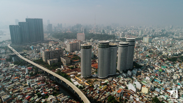 Toàn cảnh 20km tuyến đường sắt metro số 1 Bến Thành - Suối Tiên đang dần thành hình - Ảnh 3.