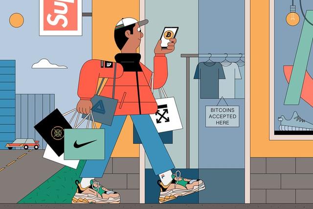 Tiền mã hóa và thời trang đường phố đang đến với nhau như thế nào? - Ảnh 3.