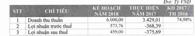 Việt Thắng Feed (VTF): Lỗ lớn năm 2017 vẫn tự tin đặt mục tiêu lãi sau thuế 459 tỷ đồng năm 2018 - Ảnh 1.
