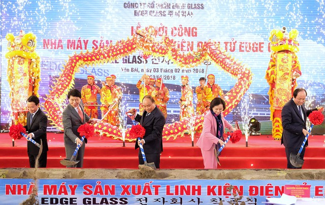 Thủ tướng dự lễ khởi công nhà máy 5.000 tỷ đồng tại Yên Bái - Ảnh 1.