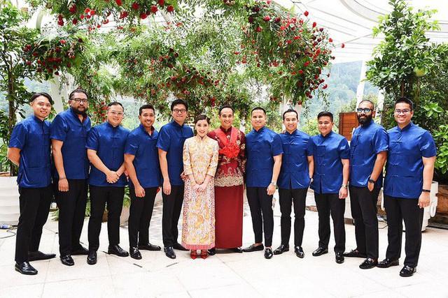 Có gì ở đám cưới cực kì xa hoa của người thừa kế xứng đôi nức tiếng hội con nhà giàu Châu Á  - Ảnh 13.