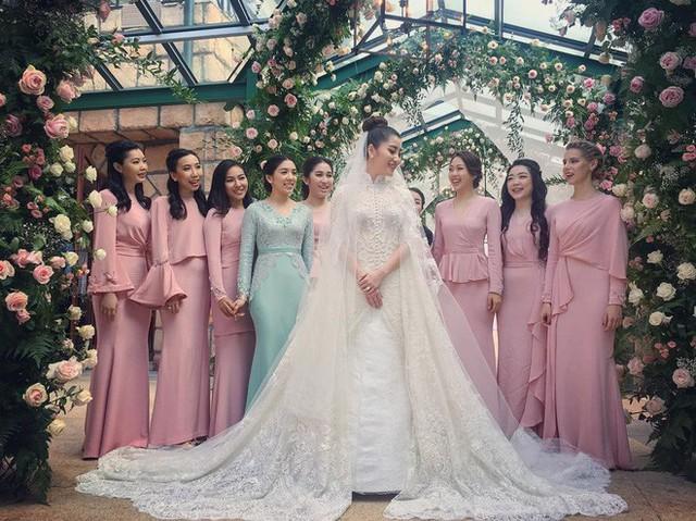 Có gì ở đám cưới cực kì xa hoa của người thừa kế xứng đôi nức tiếng hội con nhà giàu Châu Á  - Ảnh 6.