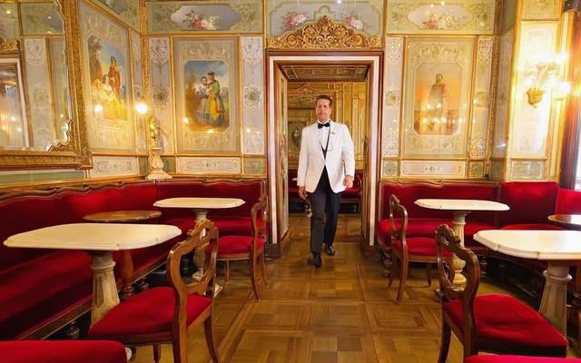 5 quán cà phê siêu sang chảnh hàng đầu thế giới: Không gian thư giãn của giới thượng lưu - Ảnh 10.