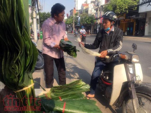 Chợ lá dong, lá chuối tồn tại nửa thế kỷ, chỉ nhóm họp mỗi năm một lần - Ảnh 5.