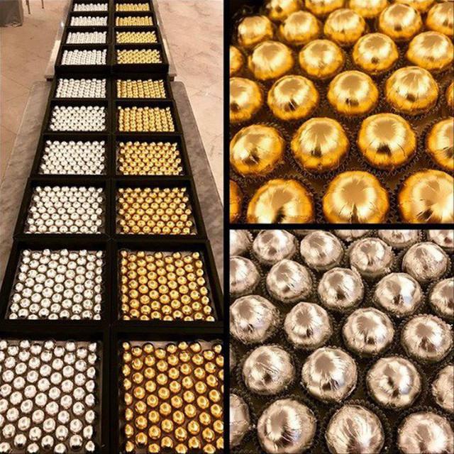 Viên socola đẳng cấp được bọc vàng, bọc bạc khiến cộng đồng mạng Instagram lóa mắt - Ảnh 7.
