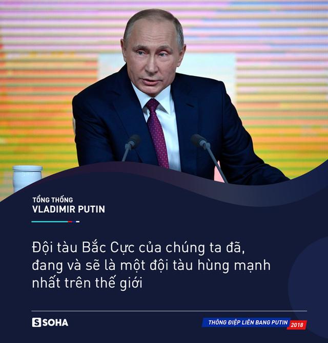 TĐLB của ông Putin: Hạm đội Bắc Cực của Nga sẽ là đội tàu hùng mạnh nhất trên thế giới - Ảnh 5.