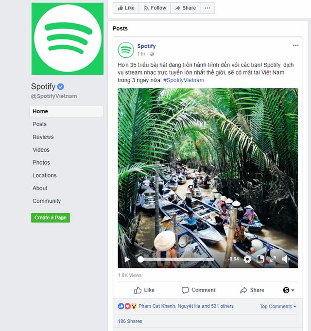 Dịch vụ nghe nhạc trực tuyến lớn nhất thế giới Spotify sẽ mở cửa tại Việt Nam vào ngày 13/3 tới - Ảnh 1.