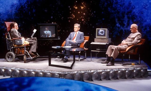 Cuộc đời phi thường qua ảnh của cố Giáo sư Stephen Hawking: Biểu tượng của lòng dũng cảm và là nguồn cảm hứng bất tận để bạn vượt qua mọi khó khăn - Ảnh 15.