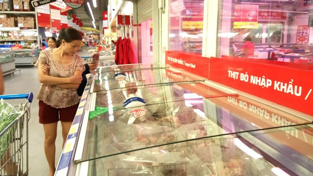 2.300 tấn thịt bò Mỹ, Úc tấn công thị trường Việt - Ảnh 1.