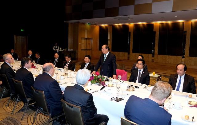 Thủ tướng đối thoại với nhà đầu tư Australia về thời cơ lớn tại Việt Nam - Ảnh 1.