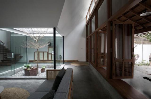 Ngôi nhà mang nét kiến trúc cổ Bắc Bộ xuất hiện lung linh trên báo ngoại - Ảnh 13.