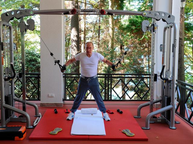 Bận rộn với công việc nhưng tổng thống Putin vẫn dành 2 giờ mỗi ngày cho hoạt động này để giữ sức khỏe và duy trì thể hình đáng ngưỡng mộ - Ảnh 4.