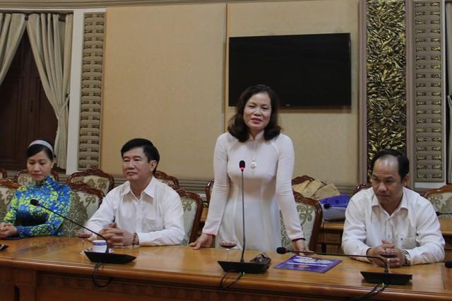 Bà Nguyễn Thị Hồng Hạnh làm phó giám đốc Sở Tư pháp TPHCM - Ảnh 1.