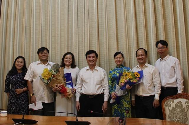 Bà Nguyễn Thị Hồng Hạnh làm phó giám đốc Sở Tư pháp TPHCM - Ảnh 2.