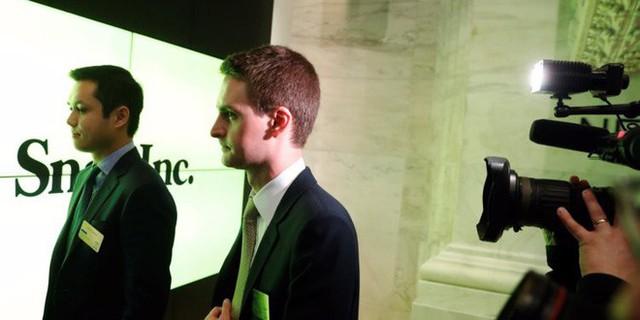 Không đạt mục tiêu đề ra, tất cả nhân viên Snap bị cắt tiền thưởng của năm 2017, nhưng CEO Evan Spiegel vẫn được nhận 637 triệu USD - Ảnh 1.
