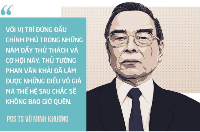 Ba bài học lớn từ cố Thủ tướng Phan Văn Khải của PGS Vũ Minh Khương - Ảnh 2.