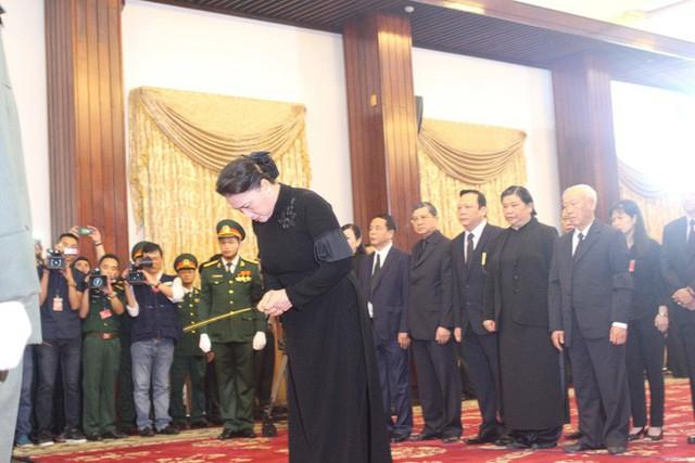 Nhiều đoàn lãnh đạo đến viếng cố Thủ tướng Phan Văn Khải tại Hội trường Thống Nhất - Ảnh 9.