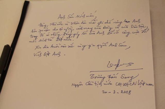 Những lời tiếc thương cố Thủ tướng Phan Văn Khải của lãnh đạo Đảng, Nhà nước trong sổ tang - Ảnh 7.