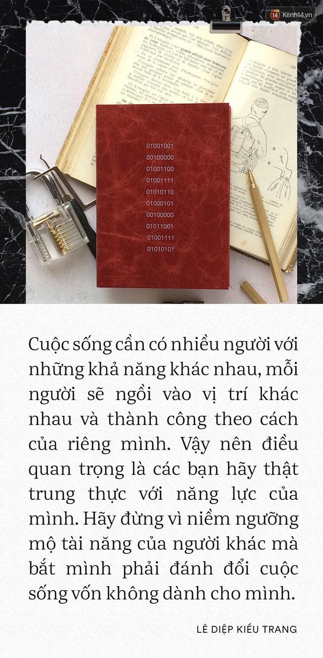 Giám đốc Facebook Việt Nam Lê Diệp Kiều Trang: Học giỏi không có nghĩa là làm việc giỏi - Ảnh 3.