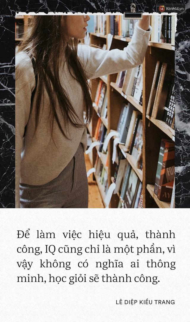 Giám đốc Facebook Việt Nam Lê Diệp Kiều Trang: Học giỏi không có nghĩa là làm việc giỏi - Ảnh 5.